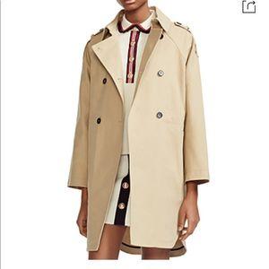 🔥 HOST PICK 🔥 Maje Oversize Trench Coat in Beige
